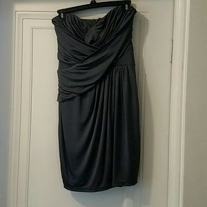 Express Cocktail Dress Strapless size small